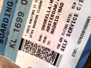 Boarding Pass Lani Ohorella